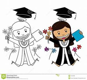 Graduate Girl Vector | www.pixshark.com - Images Galleries ...