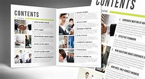 automatic magazine table of contents indesign template With table of contents template indesign