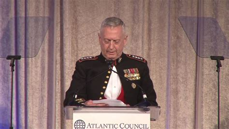 acus awards dinner  general james mattis youtube
