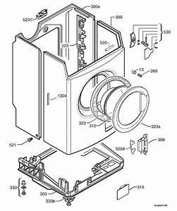 Zanussi Zwf1220w  91478072800  Washing Machine Housing
