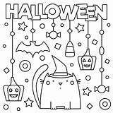 Coloring Pages Halloween Printable Activities Spooky Print Printables 30seconds Mom Tip sketch template
