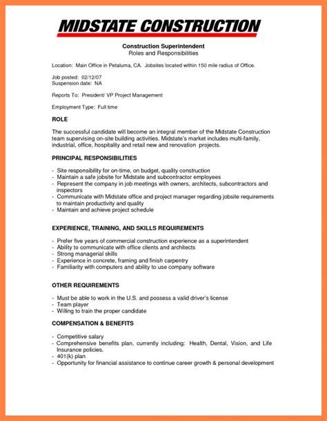 Company Resume 9 construction company resume template company letterhead