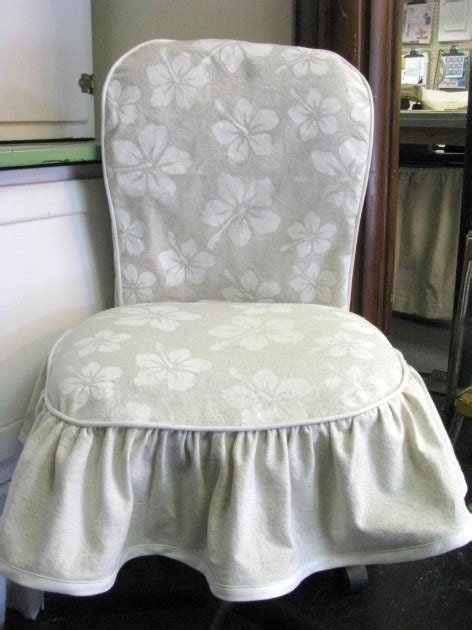 desk chair slipcover diy office chair slipcover patterns parsons chair covers