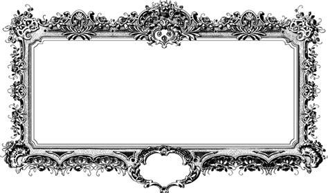 No Frames Picture 3 Piece Modern Cheap Home Decor Wall: Baroque Antique Cadre Noir Et · Image Gratuite Sur Pixabay