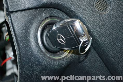 mercedes benz  electronic steering lock replacement