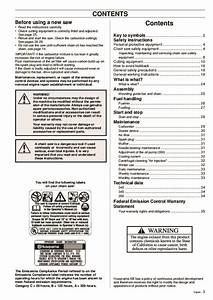 Husqvarna 340 345 350 Chainsaw Owners Manual  1995 1996
