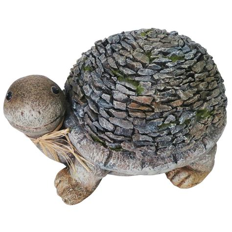 turtle statue for garden alpine turtle garden statue nzw102 the home depot