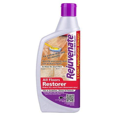 Rejuvenate Wood Floor Cleaner by Rejuvenate All Floors Restorer 16 Fl Oz
