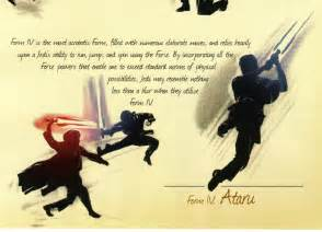 Light Saber Forms star wars lightsaber combat forms images
