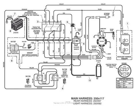 snapper lawn mower wiring diagram wiring diagram database