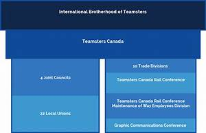 Union Structure Teamsters Canada