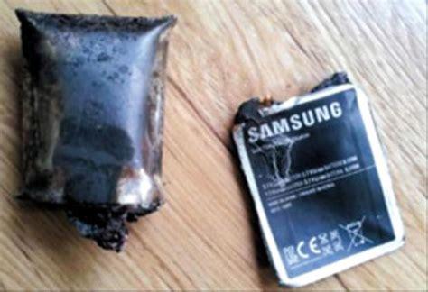 une batterie de galaxy note explose