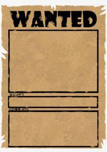 18 Funny Wanted Poster Templates | KittyBabyLove.com