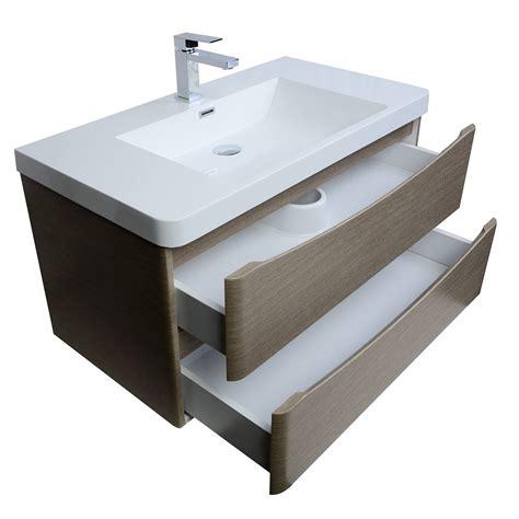 Mounted Vanity by Buy Merida 30 Inch Wall Mount Bathroom Vanity In Light