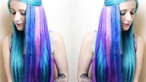 Sparks Colour Hair Dye Tutorial ♥ Youtube