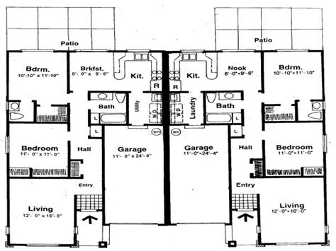 small two bedroom house plans house plans with two master