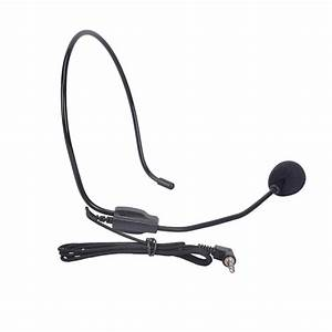 Portable Headset Microphone Wired 3 5mm Moving Coil