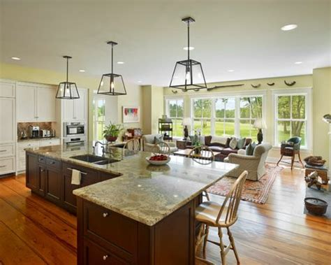 country living 500 kitchen ideas l shaped living room dining room kitchen design ideas
