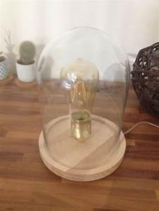 Lampe Sous Cloche : 1000 id es propos de ampoule filament sur pinterest suspension ampoule filament ampoule ~ Teatrodelosmanantiales.com Idées de Décoration