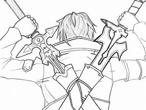 Kirito Dual Wielding By Hidiousboy On Deviantart