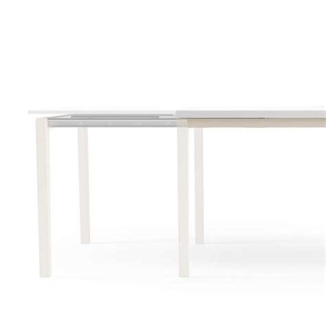 table bois et verre avec rallonge table de cuisine en verre avec rallonge bois 4 pieds tables chaises et tabourets