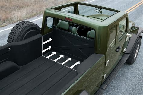 jeep truck concept interior jeep gladiator concept 2015 un jeep wrangler pick up