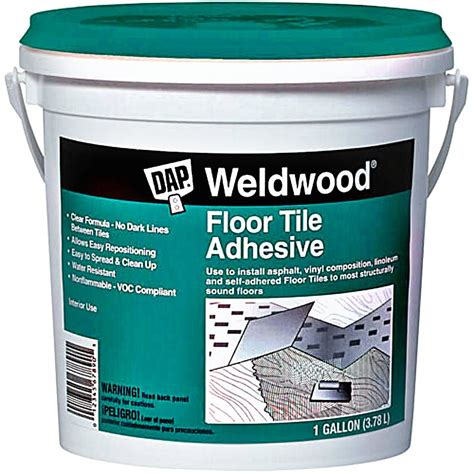 buy the dap 00137 floor tile adhesive one gallon