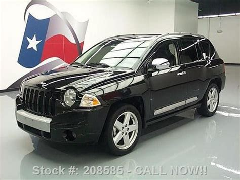 jeep compass sunroof purchase used 2009 jeep compass limited sunroof htd