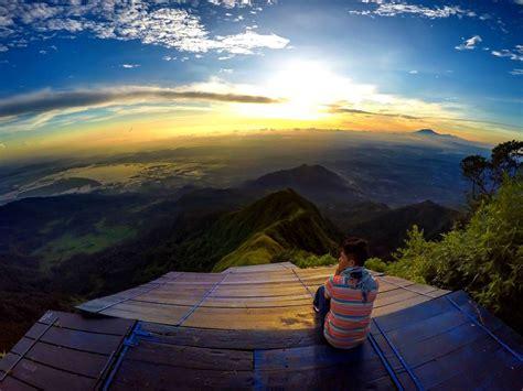 hai perindu sunrise cobalah  gunung telomoyo