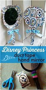 tutorial disney princess duct mirror dollar