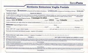Casa moderna Roma Italy: Modulo postale per bonifico