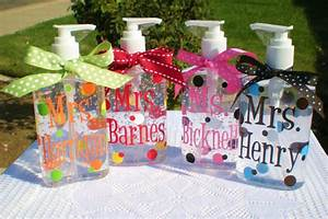 20 back 2 school teacher gifts With hand sanitizer gifts personalized
