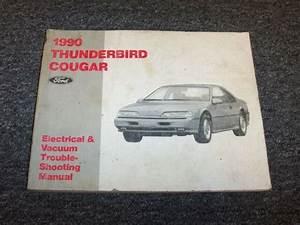 1990 Ford Thunderbird Electrical Wiring  U0026 Vacuum Diagram