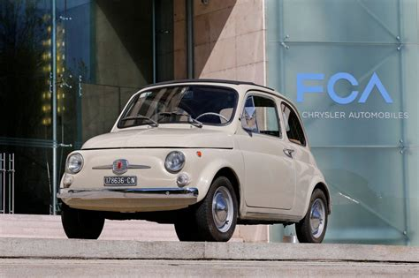 Original Fiat 500 by The Original Fiat 500 Is Now A Work Of Literally