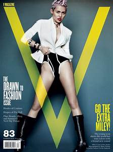 Behind the Scenes of Miley Cyrus' Racy Photoshoot for V ...