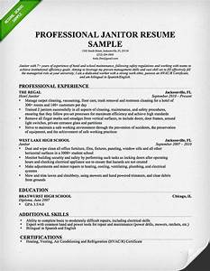 janitor resume sample download this resume sample to use With write my own resume