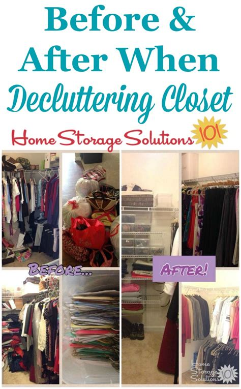 How To Declutter Closet by How To Declutter Closet Shelves Drawers