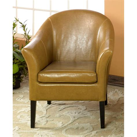 clementine camel leather club chair dcg stores