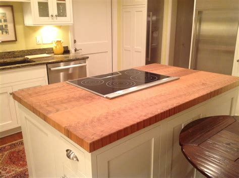 kitchen island butcher block top custom maple butcher block kitchen island counter top