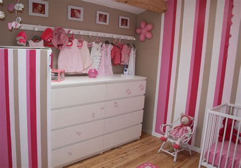 chambre pour bebe fille decoration chambre bebe fille photo beautiful dcoration