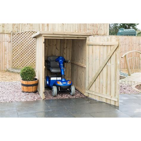 Mobility Scooter Storage Shed by Plastic Shed For Mobility Scooter Shed Plans Ideas