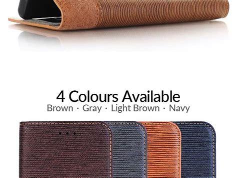 samsung galaxy   tone leather flip case
