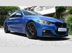 Saturday Throwback BMW F30 320d Equipped With Vorsteiner