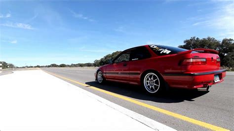 1992 acura integra goes bwaaaaaaaaah youtube