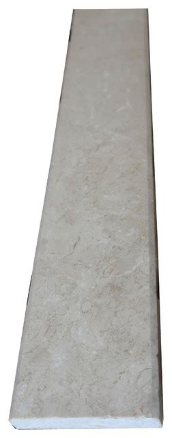 marble saddle crema marfil marble saddle threshold 4 quot x36 quot traditional flooring