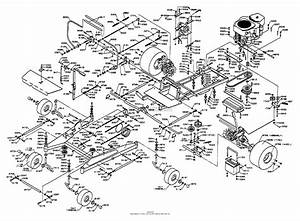 Dixon Ztr 6601  1996  Parts Diagram For Chassis Assembly