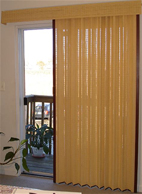 gv window fashions   woven panels folding door