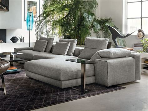 Sofa With Chaise Longue By Arketipo Design Mauro