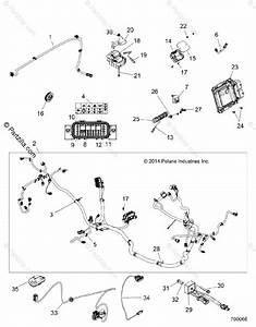 Polaris Side By Side 2015 Oem Parts Diagram For Electrical  Wire Harness Z15va87 All Options