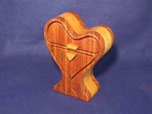 Heart Shaped Band Saw Box Pattern